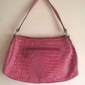 Nicole by Nicole Miller Bags - nicole miller purse pink satchel zip top womens